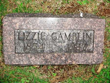 GAMBLIN, LIZZIE - Benton County, Arkansas | LIZZIE GAMBLIN - Arkansas Gravestone Photos