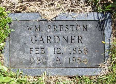 GARDNER, WILLIAM PRESTON - Benton County, Arkansas | WILLIAM PRESTON GARDNER - Arkansas Gravestone Photos