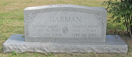 GARMAN, SUZANNE - Benton County, Arkansas | SUZANNE GARMAN - Arkansas Gravestone Photos