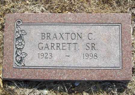 GARRETT, BRAXTON C. SR. - Benton County, Arkansas | BRAXTON C. SR. GARRETT - Arkansas Gravestone Photos