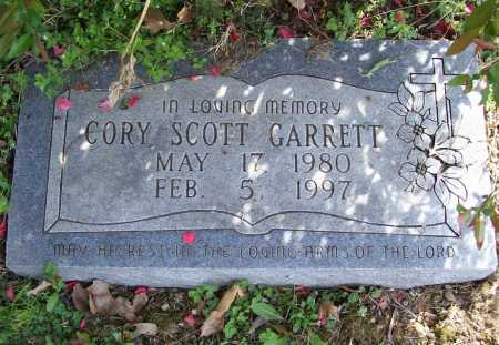 GARRETT, CORY SCOTT - Benton County, Arkansas | CORY SCOTT GARRETT - Arkansas Gravestone Photos