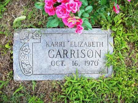 GARRISON, KARRI ELIZABETH - Benton County, Arkansas | KARRI ELIZABETH GARRISON - Arkansas Gravestone Photos