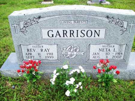 GARRISON, NETA L. - Benton County, Arkansas | NETA L. GARRISON - Arkansas Gravestone Photos