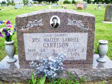 GARRISON, REV. WALTER SAMUEL - Benton County, Arkansas | REV. WALTER SAMUEL GARRISON - Arkansas Gravestone Photos