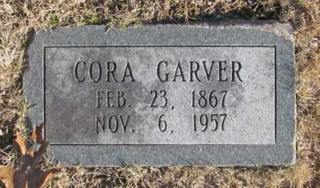 GARVER, CORA - Benton County, Arkansas | CORA GARVER - Arkansas Gravestone Photos