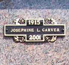 GARVER, JOSEPHINE L. - Benton County, Arkansas | JOSEPHINE L. GARVER - Arkansas Gravestone Photos