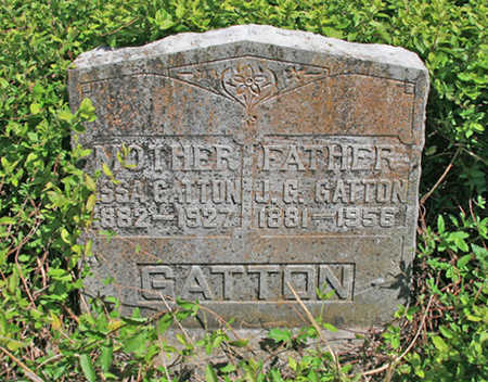 CAREY GATTON, OSSA - Benton County, Arkansas | OSSA CAREY GATTON - Arkansas Gravestone Photos