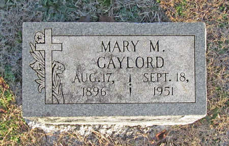 GAYLORD, MARY M - Benton County, Arkansas | MARY M GAYLORD - Arkansas Gravestone Photos