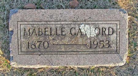 GAYLORD, MABELLE - Benton County, Arkansas | MABELLE GAYLORD - Arkansas Gravestone Photos