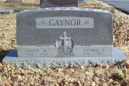 GAYNOR, GEORGE J. - Benton County, Arkansas | GEORGE J. GAYNOR - Arkansas Gravestone Photos