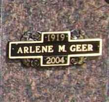 MCBEE GEER, ARLENE MAY - Benton County, Arkansas | ARLENE MAY MCBEE GEER - Arkansas Gravestone Photos