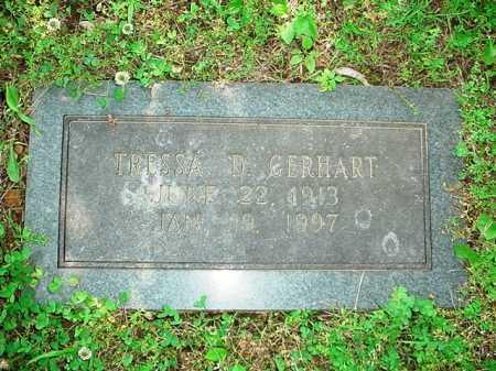 GERHART, TRESSA D. - Benton County, Arkansas | TRESSA D. GERHART - Arkansas Gravestone Photos