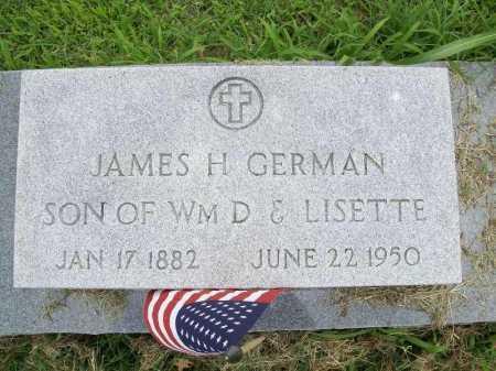 GERMAN, JAMES H - Benton County, Arkansas | JAMES H GERMAN - Arkansas Gravestone Photos