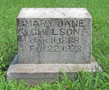 GHOLSON, MARY JANE - Benton County, Arkansas   MARY JANE GHOLSON - Arkansas Gravestone Photos