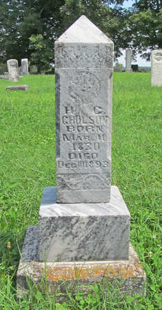 GHOLSON, HENRY G. - Benton County, Arkansas | HENRY G. GHOLSON - Arkansas Gravestone Photos