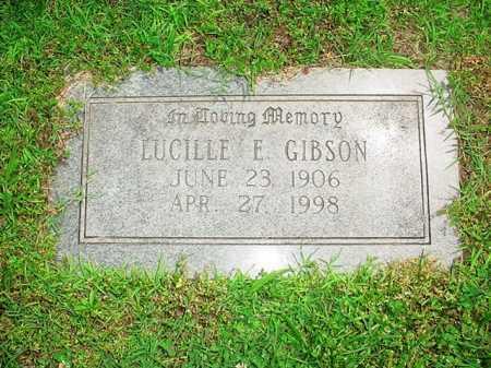 GIBSON, LUCILLE E. - Benton County, Arkansas | LUCILLE E. GIBSON - Arkansas Gravestone Photos