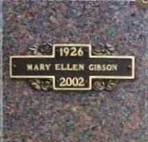 GIBSON, MARY ELLEN - Benton County, Arkansas | MARY ELLEN GIBSON - Arkansas Gravestone Photos