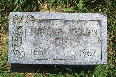 MAHURIN GIFT, FLORENCE - Benton County, Arkansas | FLORENCE MAHURIN GIFT - Arkansas Gravestone Photos