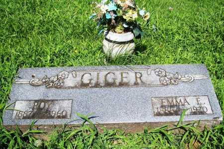 GIGER, EMMA E. - Benton County, Arkansas | EMMA E. GIGER - Arkansas Gravestone Photos