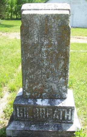 GILBREATH, M. A. - Benton County, Arkansas   M. A. GILBREATH - Arkansas Gravestone Photos