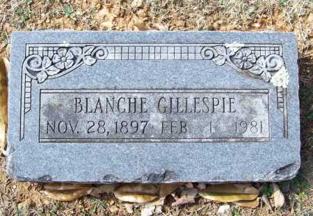 GILLESPIE, BLANCHE - Benton County, Arkansas | BLANCHE GILLESPIE - Arkansas Gravestone Photos