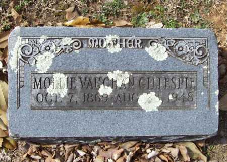 GILLESPIE, MOLLIE - Benton County, Arkansas | MOLLIE GILLESPIE - Arkansas Gravestone Photos