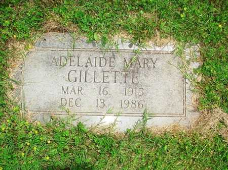GILLETTE, ADELAIDE MARY - Benton County, Arkansas | ADELAIDE MARY GILLETTE - Arkansas Gravestone Photos