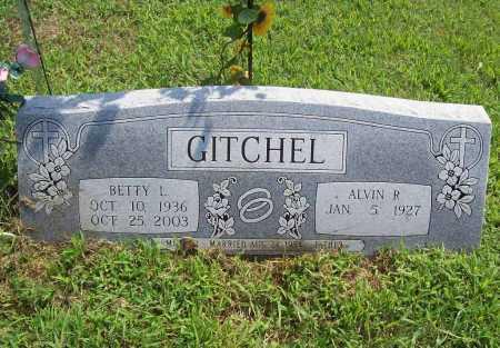 GITCHEL, BETTY L. - Benton County, Arkansas | BETTY L. GITCHEL - Arkansas Gravestone Photos