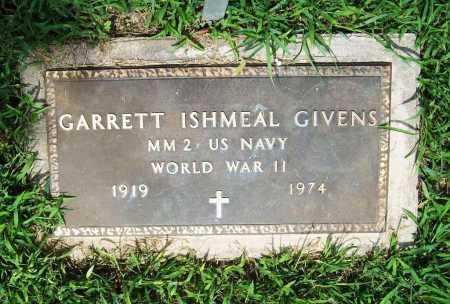 GIVENS (VETERAN WWII), GARRETT ISHMEAL - Benton County, Arkansas | GARRETT ISHMEAL GIVENS (VETERAN WWII) - Arkansas Gravestone Photos