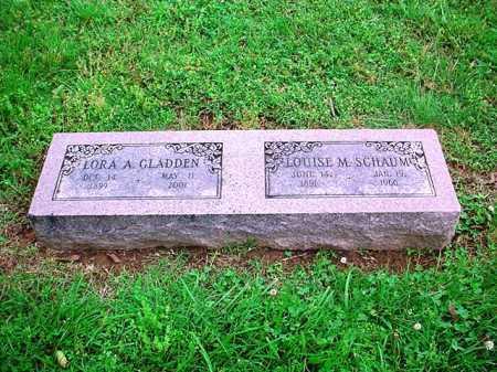 SCHAUM, LOUISE M. - Benton County, Arkansas | LOUISE M. SCHAUM - Arkansas Gravestone Photos