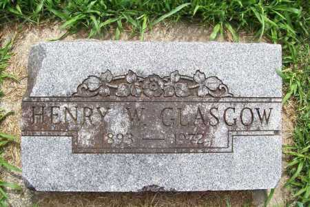 GLASGOW, HENRY W. - Benton County, Arkansas | HENRY W. GLASGOW - Arkansas Gravestone Photos