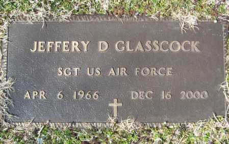 GLASSCOCK  (VETERAN), JEFFERY DEAN - Benton County, Arkansas | JEFFERY DEAN GLASSCOCK  (VETERAN) - Arkansas Gravestone Photos