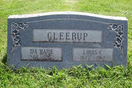 GLEERUP, LOUIS C. - Benton County, Arkansas | LOUIS C. GLEERUP - Arkansas Gravestone Photos