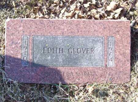 GLOVER, EDITH - Benton County, Arkansas | EDITH GLOVER - Arkansas Gravestone Photos