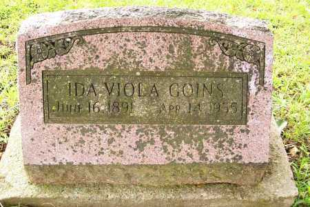 GOINS, IDA VIOLA - Benton County, Arkansas | IDA VIOLA GOINS - Arkansas Gravestone Photos
