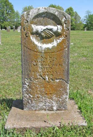 GOLDEN, A L - Benton County, Arkansas | A L GOLDEN - Arkansas Gravestone Photos