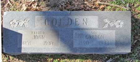 GOLDEN, JOHN - Benton County, Arkansas | JOHN GOLDEN - Arkansas Gravestone Photos