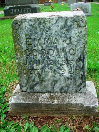 GOODING, EMMA J. - Benton County, Arkansas | EMMA J. GOODING - Arkansas Gravestone Photos