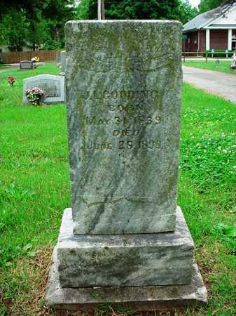 GOODING, J. L. - Benton County, Arkansas | J. L. GOODING - Arkansas Gravestone Photos