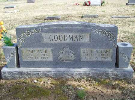 GOODMAN, JOSEPH EARL - Benton County, Arkansas | JOSEPH EARL GOODMAN - Arkansas Gravestone Photos