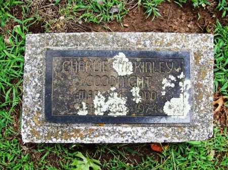 GOODNIGHT, CHARLIE MCKINLEY - Benton County, Arkansas | CHARLIE MCKINLEY GOODNIGHT - Arkansas Gravestone Photos