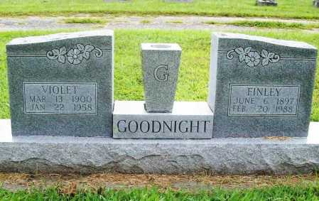 GOODNIGHT, FINLEY - Benton County, Arkansas | FINLEY GOODNIGHT - Arkansas Gravestone Photos