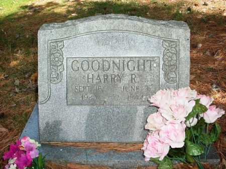 GOODNIGHT, HARRY R. - Benton County, Arkansas | HARRY R. GOODNIGHT - Arkansas Gravestone Photos