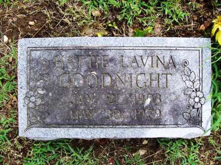 GOODNIGHT, HATTIE LAVINA - Benton County, Arkansas | HATTIE LAVINA GOODNIGHT - Arkansas Gravestone Photos