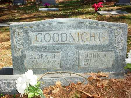 GOODNIGHT, JOHN A. - Benton County, Arkansas | JOHN A. GOODNIGHT - Arkansas Gravestone Photos