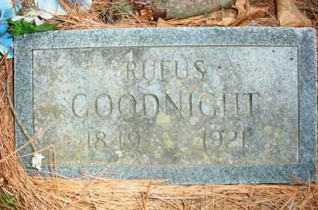 GOODNIGHT, RUFUS - Benton County, Arkansas | RUFUS GOODNIGHT - Arkansas Gravestone Photos