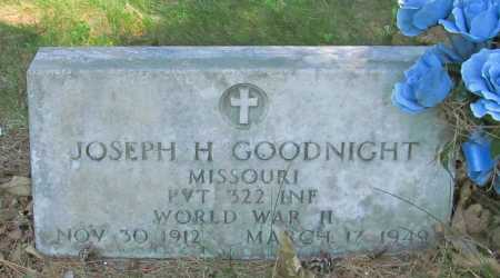 GOODNIGHT (VETERAN WWII), JOSEPH H - Benton County, Arkansas | JOSEPH H GOODNIGHT (VETERAN WWII) - Arkansas Gravestone Photos