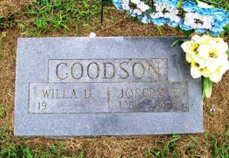 GOODSON, JOSEPH E. - Benton County, Arkansas | JOSEPH E. GOODSON - Arkansas Gravestone Photos