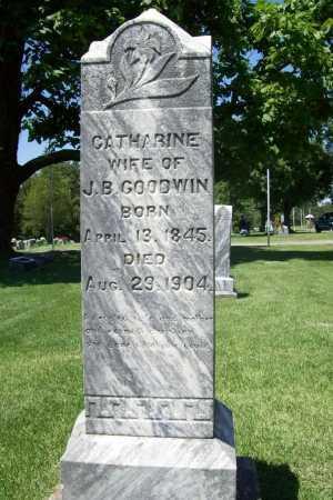 GOODWIN, CATHERINE - Benton County, Arkansas | CATHERINE GOODWIN - Arkansas Gravestone Photos