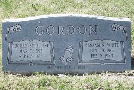 GORDON, BENJAMIN WHITE - Benton County, Arkansas | BENJAMIN WHITE GORDON - Arkansas Gravestone Photos